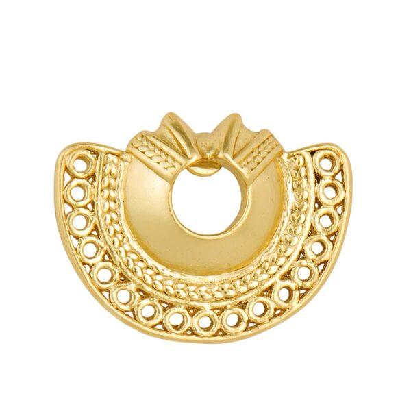 Semilunar Atteza Stud earring