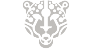 Atteza Jaguar jewelry collection logo in grayscale